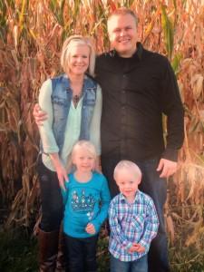 Dr. Haugen's family photo